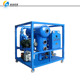 Double Stage Dehydration Degasification Filtration 6000 Liters/H Vacuum Transformer oil purifier system