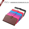 Premium pu leather material stand folio wallet cover for Sony Xperia X cell phone case