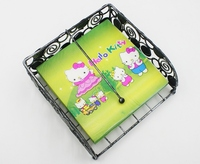 Food-grade Hello Kitty Paper Napkin With Ball Festive & Party Cat Tissue Napkin Printed Cartoon 33cm*33cm UCD-43