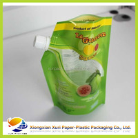 Juice Printed Vacuum bag with spout