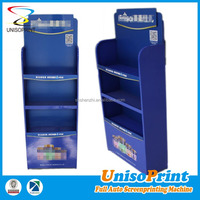 China gold supplier mass producting trade show milk powder metal display rack