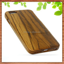 China factory OEM real natural zebra wood mobile phone shell cover for iphone 6s plus, for iphone 6s plus wood case