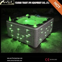 Hottest model!!chinese outdoor hot tub with heater, hot tub pool sexy massage spa with water-pure system