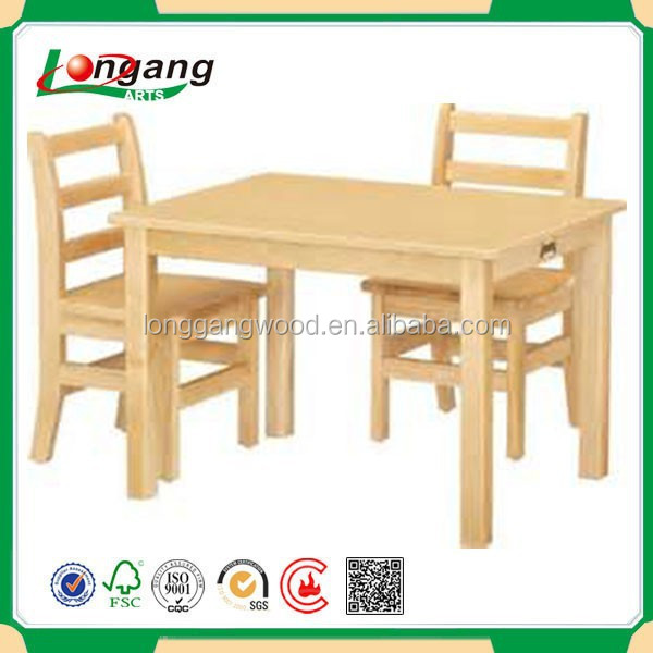 Modern Fashion Children Furniture Kindergarten Table And Chairs