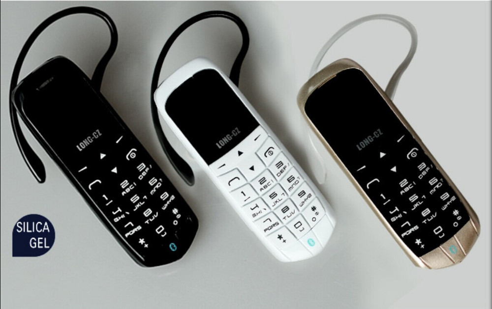 Plastic Material Mini Mobile Phone with SIM Slot