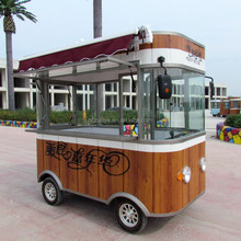New models China made hot sale mobile hot dog/ice cream /juice food trailer