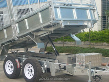 CE approved galvanized utility trailer