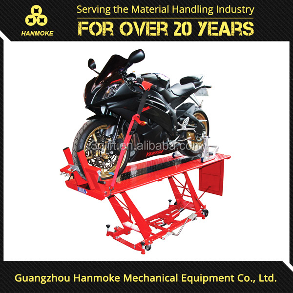CE certificated motorcycle lift table hydraulic lifting equipment