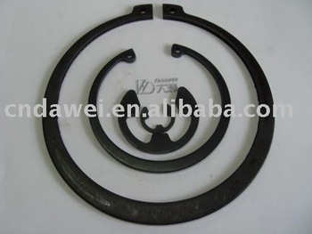 Round Wire Snap Ring For Hole
