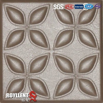 Chinese new style wall panel leather