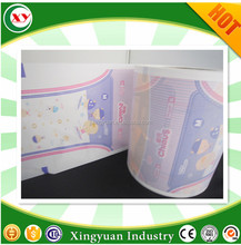 Breathable film for counterdie of adults diaper pampering