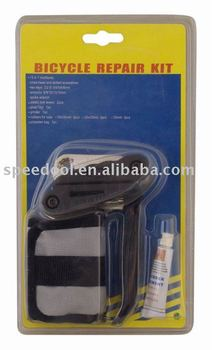 Bicycle repair kits easy carry with polyester bag