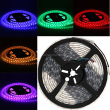 flexible strip light christmas party holidays wedding decorative strip lights smd5730/5630/3528 RGB color