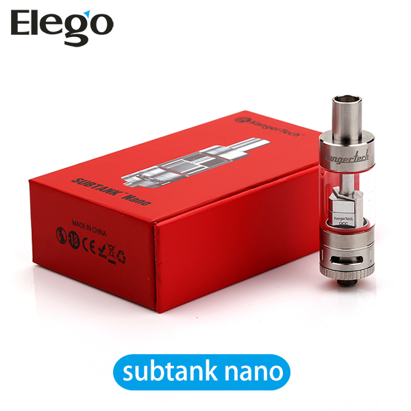 100% Original Kanger Subtank Nano Clearomizer With Organic Cotton Made In Japan