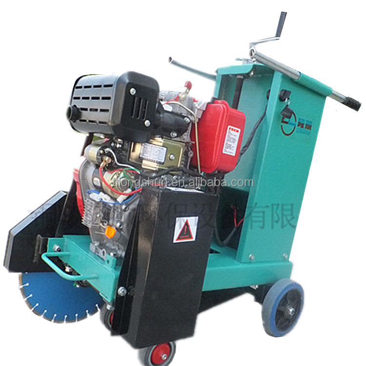 High performance electric road cutter concrete cutting machine for sale