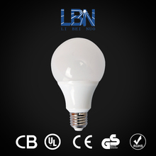 3w 5w 7w 9w 12w led light, e27 b22 base led light bulb, housing plastic aluminum parts led bulb