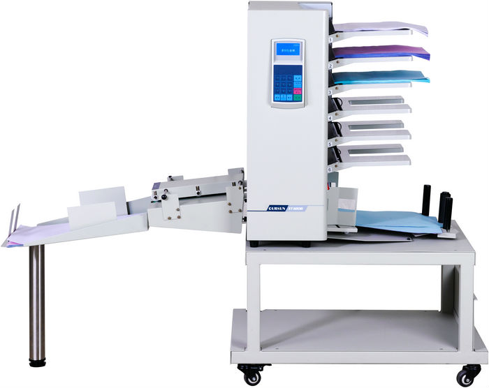 Automatic book paper collator machine with collecting and table