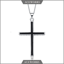 ACEWORKS 2017 hot selling 925 sterling silver crucifix and cross charm pendant