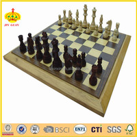 modern wooden chess board game set