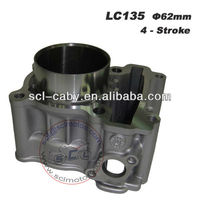 LC135 Cylinder block custom motorcycle cylinder block
