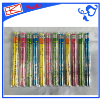 Huake Flower stem pencil HB Mix four color,24 pencil