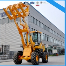 Shandong AOLITE 1.8Ton Small Wheel Loader With Grapple Forks for sale