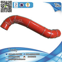 Hot Temperature S Shape 320040000047 silicone hose used construction machinery
