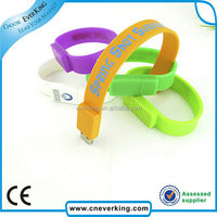 Full Capacity bracelet usb wristband usb flash memory stick for 2.0 drive
