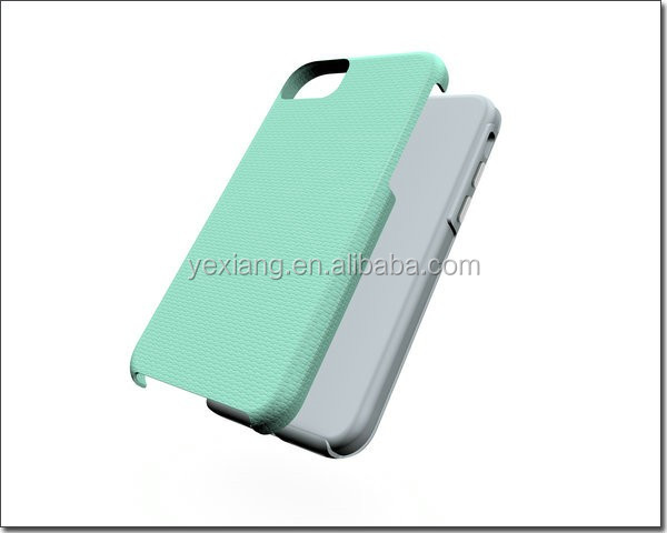 Factory Price Cell Phone Combo Case Back Cover For iPhone 7 Rubber Case