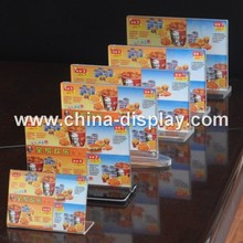 High Quality Tabletop Display Stand Acrylic Fast Food Menu Board