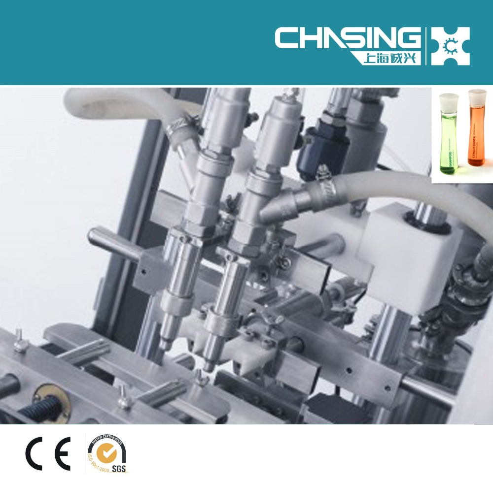 Shanghai Chasing New 2017 Liquid Automatic Filling Machine/ Packaging Line