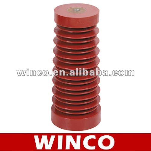 High voltage epoxy resin post insulator