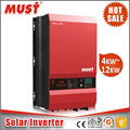 MUST 12KW solar inverter with 2 MPPT transformer design for commercial rooftop solar energy