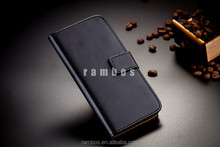 Folio Book Stand Leather Cover Cellphone Card Holder Wallet Case for Blackberry Q10 Q5