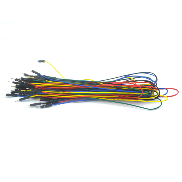flexible male to male breadboard jumper wire