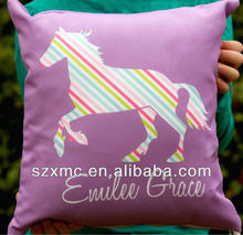 Vintage Designer Horse Printed Cushion Covers And Pillow Case