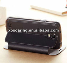 Credit card leather case pouch for Samsung Galaxy S4 active i9295