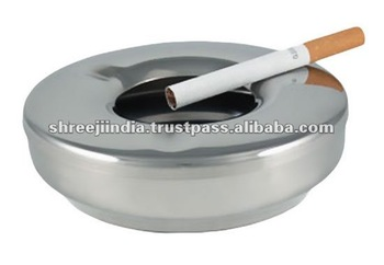 Stainless Steel Round Shape ashtray