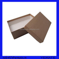 Brown cardboard cosmetic cosmetics kosmetik box kotak packaging pr