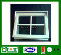 Aluminium Doors And Windows/Iron Glass Awning Window Grill Design Made In China