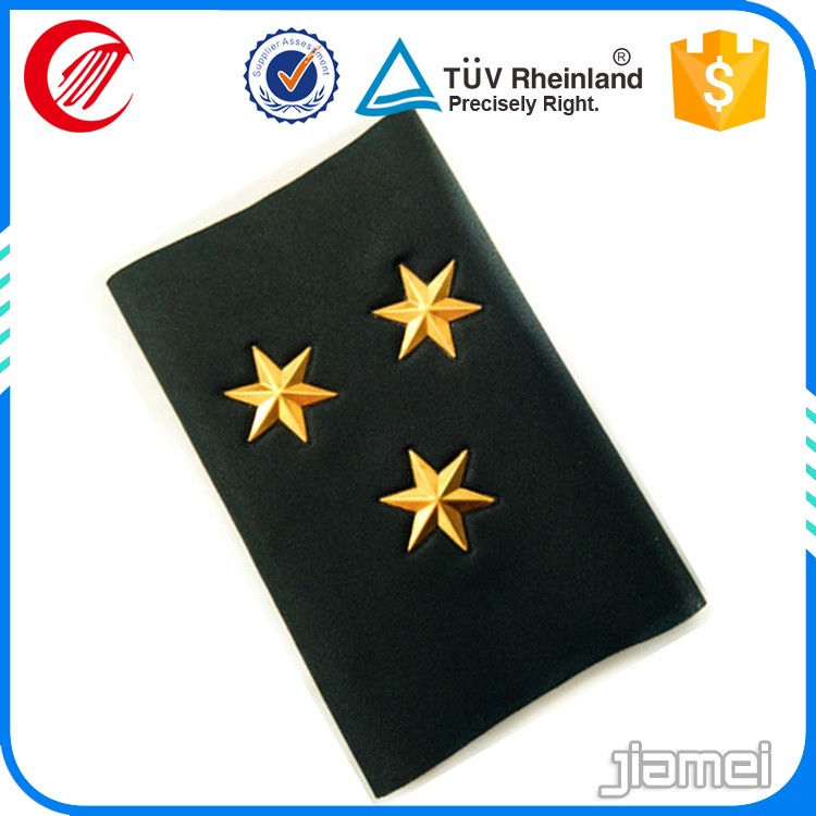 factory custom uniform epaulette shoulder board rank