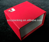 Custom Beautiful Paper Box Paper Gift Packaging Box With Silk Insert