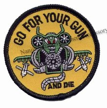 OEM made personalized helicopter embroidery patches for sale