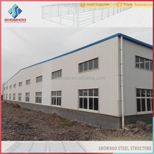 painting or hot galvanized light steel structurals building prefabricated warehouse for construction