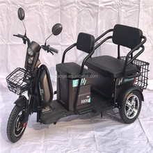 cheap three wheel disabled electric tricycle adults passenger seat 3 wheel tricycle