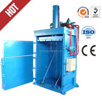 hydraulic vertical waste cardboard press compressor,Y82-25 wool baler for polyethilene film waste, cartoon,straw,hay compressing