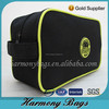 China factory simple black designer Travel toiletry bag for men