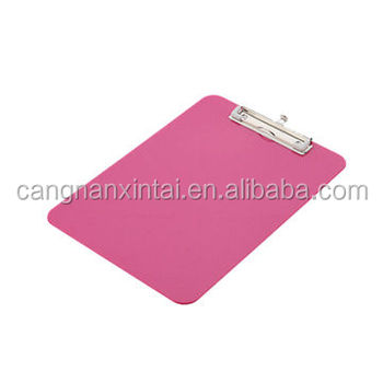 Eco A4 pp plastic clip file folder /board clamps for stationary office