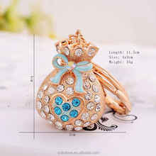 Hot new products key chain for 2016,novelties goods from china,souvenirs keychain and key ring for women CH0179