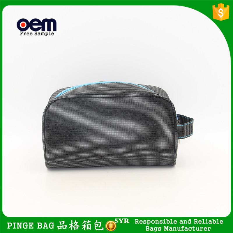 Custom Fashion Polyester Cosmetic Bag Promotional Toiletry Bag For <strong>Travel</strong>